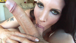 This MILF sure knows how to suck & take care of a big cock