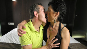 This mature lovers love it hard and long
