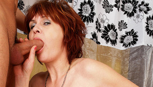 Mama gets pounded by the stud next door