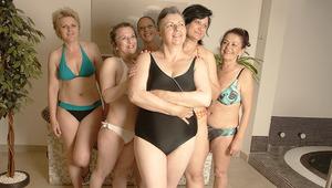 These older women are sucking off steam