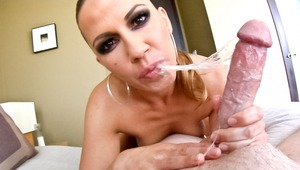 This super sexy MILF Inari knows how to pleasure a nice cock